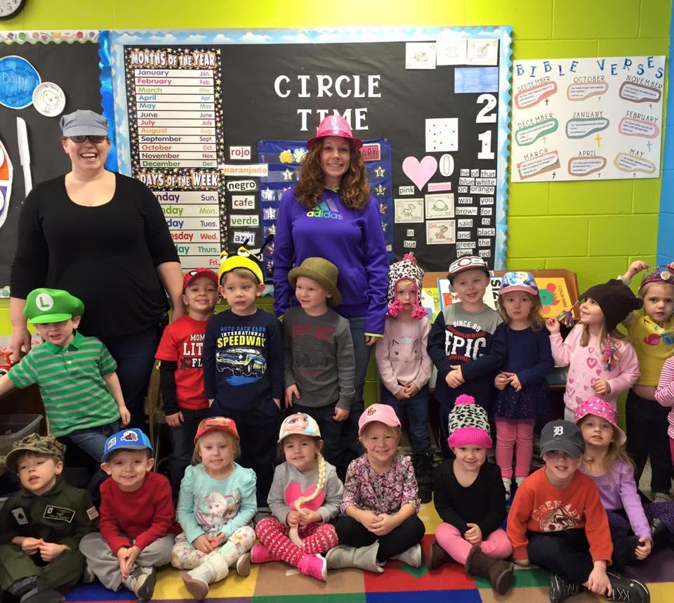 Preschool Class Photo